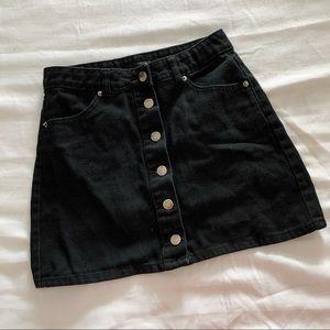 F21 Button down skirt
